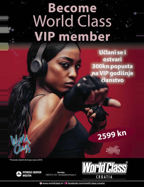 Become a World Class VIP Member!!  (the offer has expired)